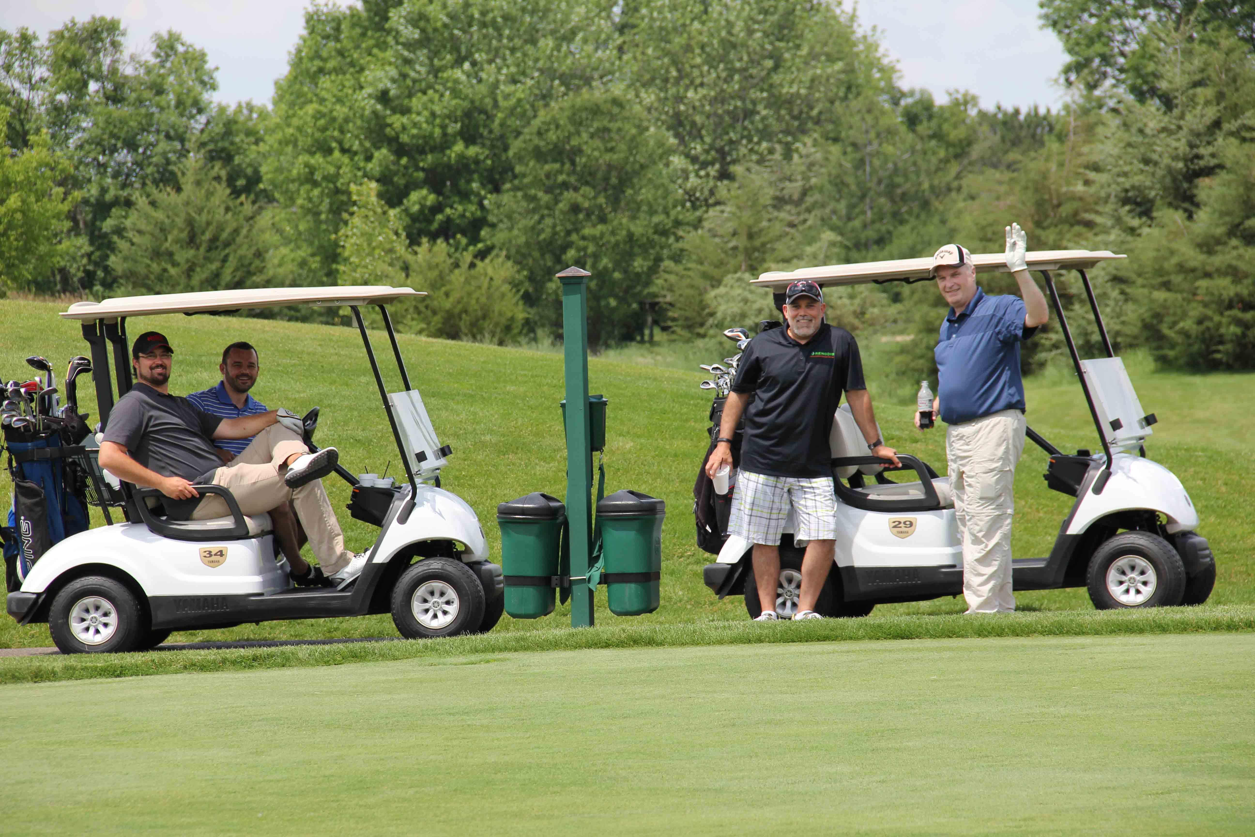 Golf at Troy Burne