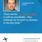 Craig Beason, Renodis CEO, Featured in MSPBJ with CEO Roundtable
