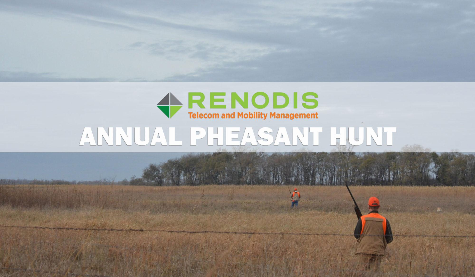 Renodis Pheasant Hunt